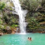 cachoeira santa barbara Cavalcante Goias