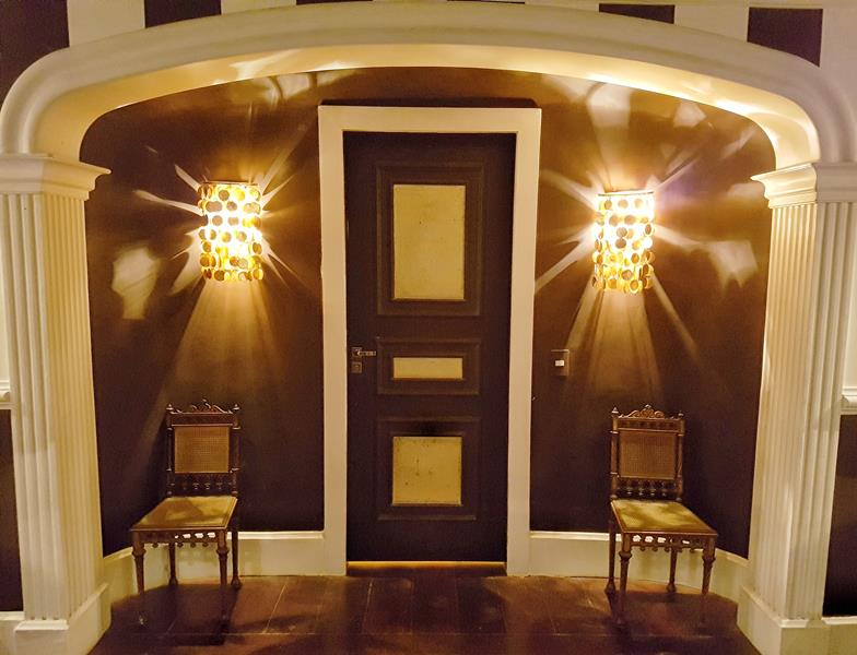 entrada da suite amarela