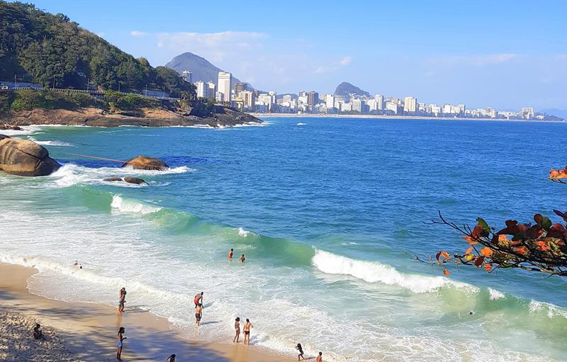Praia do Vidigal Feriado