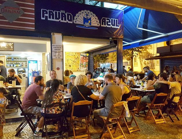 Bar Pavão Azul Boteco copa