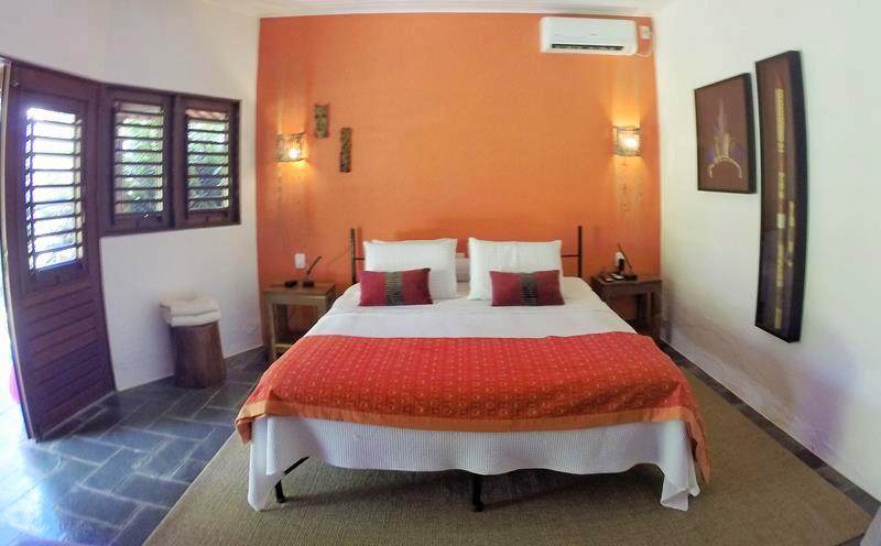 pousada cote sud bangalo charme cama casal