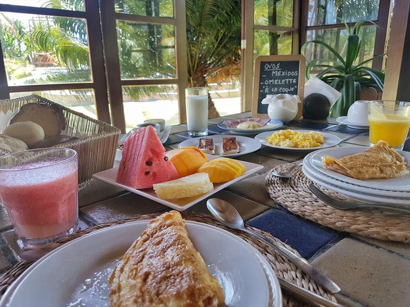 pousada cote sud café da manhã