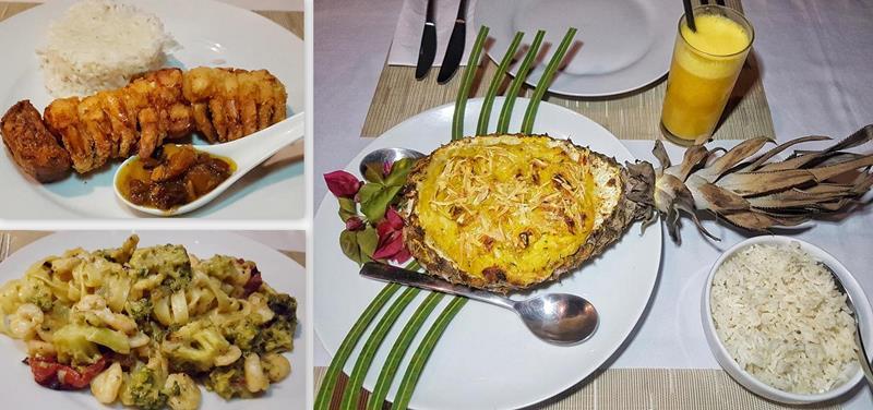 pousada cote sud gastronomia jantar