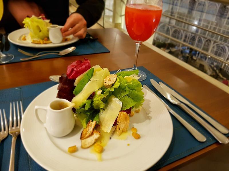 Salada de mix de folhas