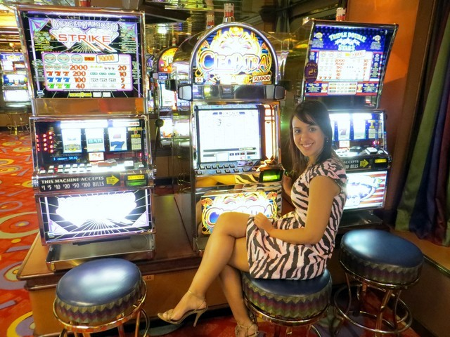 Máquinas caça níquel do casino do navio