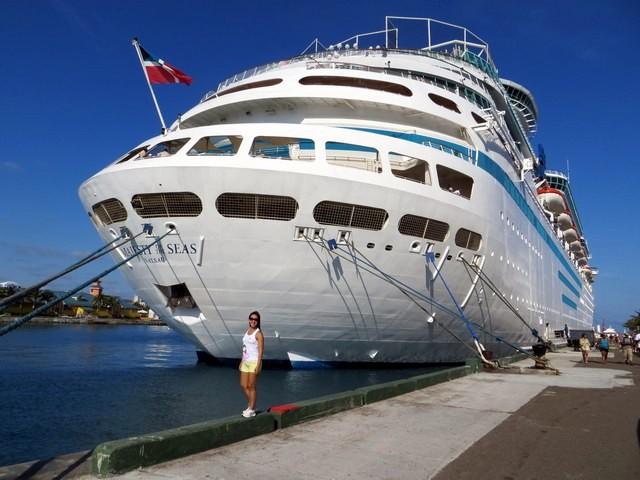 navio majesty of the seas atracado