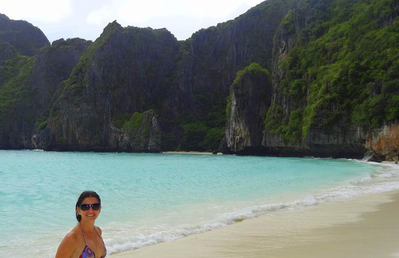 maya bay em uma epoca paradisiaca