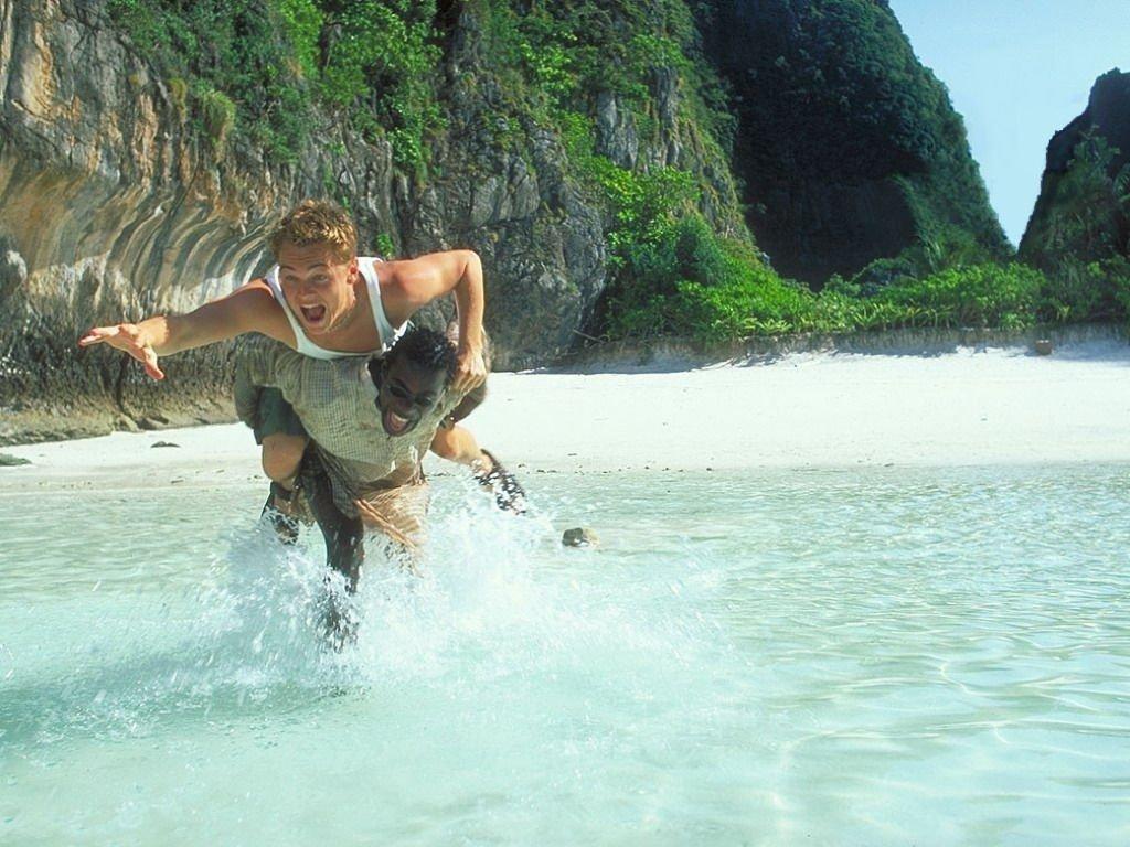 cena do filme A Praia