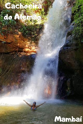 Cachoeira do Alemão,Mambaí, Pinterest