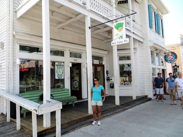 fachada da loja key lime pie key west