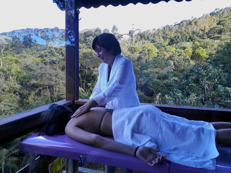 massagem relaxante no chale