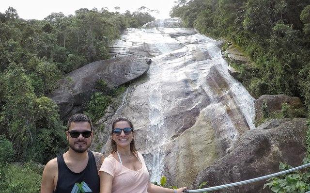a principal cachoeira do passeio