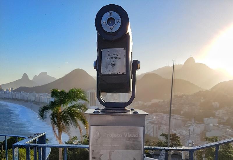luneta para a orla de copacabana
