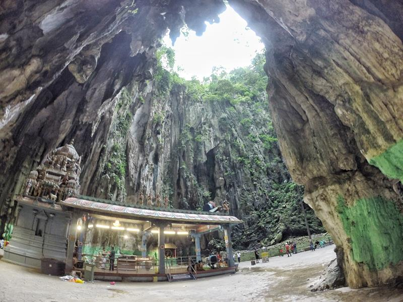 cavernas em batu caves