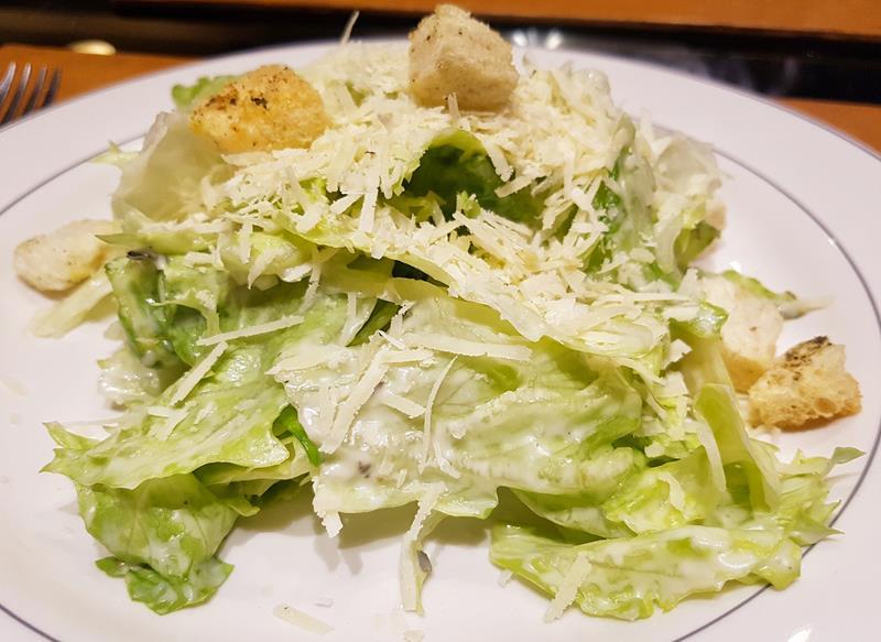 salada para acompanhar