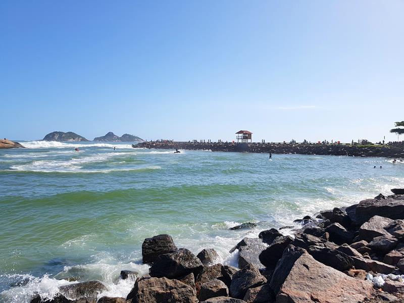 Vista do Quebra mar