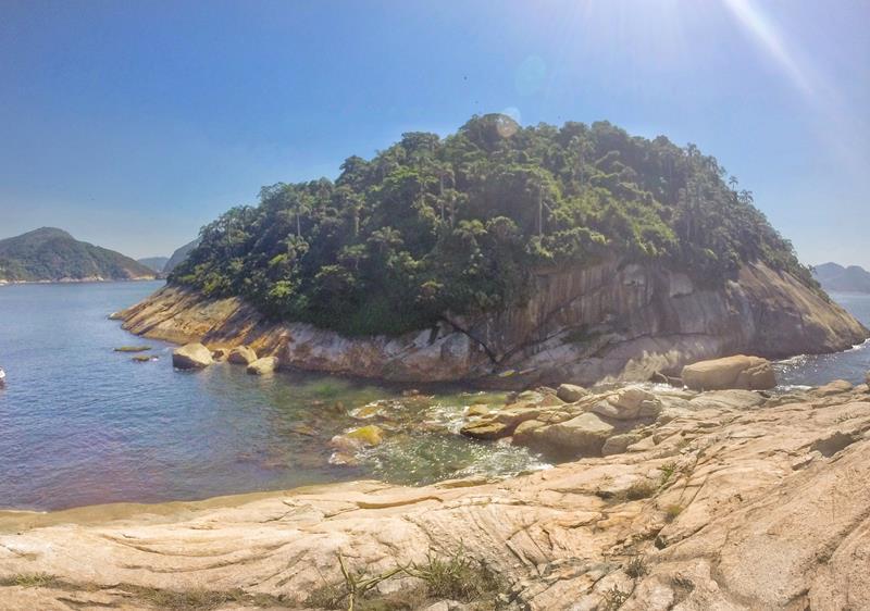 lateral da ilha