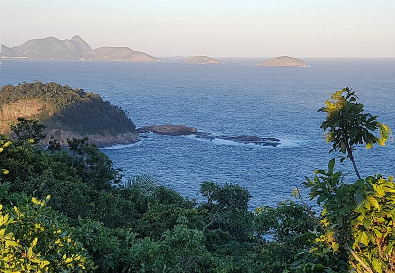 Vista do Morro do Leme