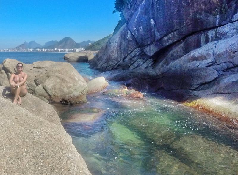água transpartente