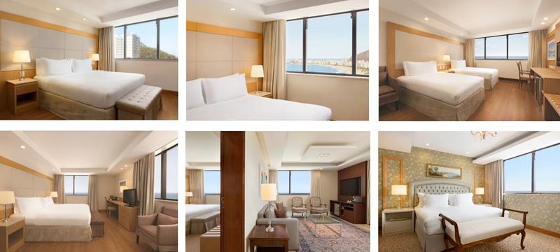 Apartamentos e suites