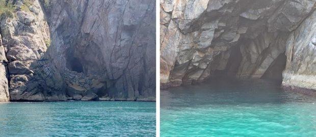 gruta azul arraial do cabo