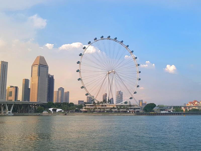 roda gigante de singapora