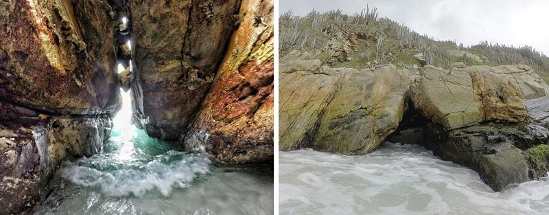 entrada da gruta