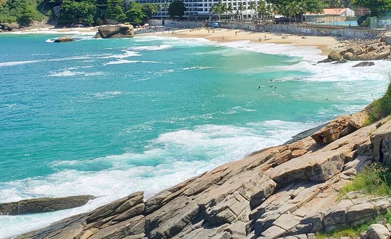 vista da praia vidigal