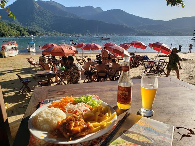 Almoco Praia Crena