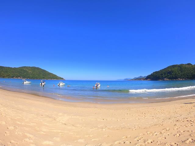 Praia da Parnaioca volta a ilha