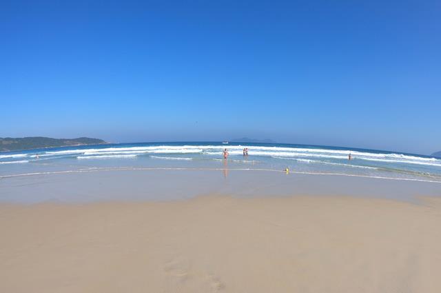 Praia de Lopes Mendes roteiro Ilha Grande