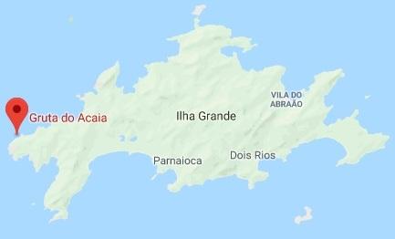 Onde fica a gruta do Acaia