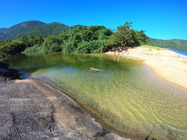 rio parnaioca volta a ilha