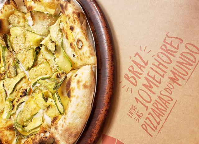 Braz Pizzaria lanca mais uma pizza Vegana