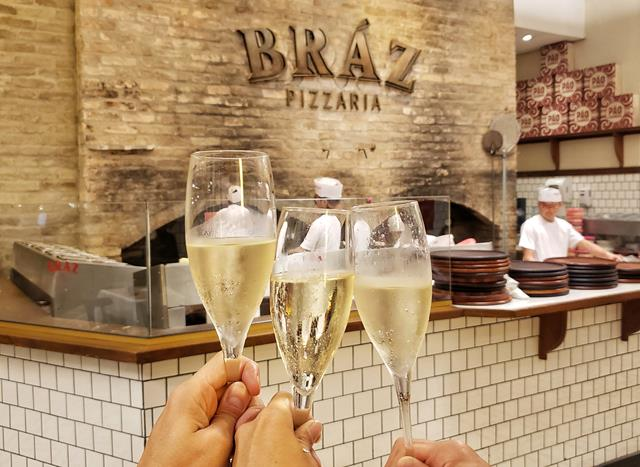 braz pizzaria lanca espumante exclusivo