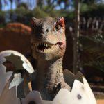 vle dos dinossauros em olimpia