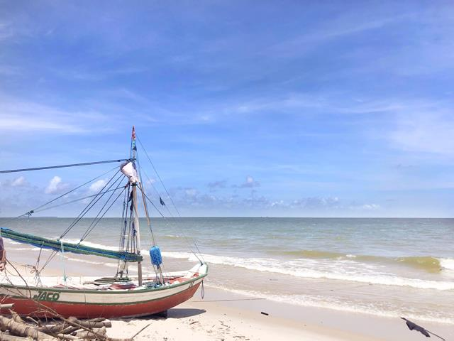 Praia Joanes Ilha Marajo
