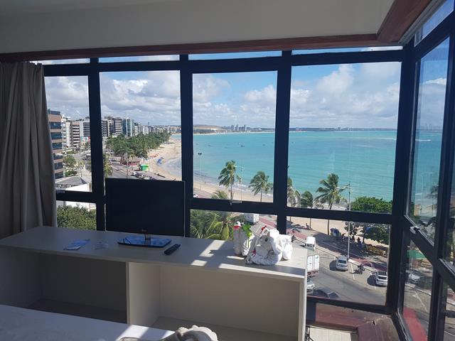 suite panoramica com tv