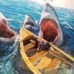 tubaroes engolindo