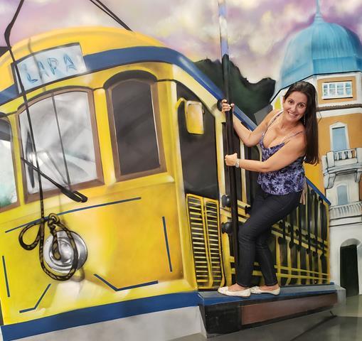 santa teresa bondinho Museu de Ilusoes Rio de Janeiro