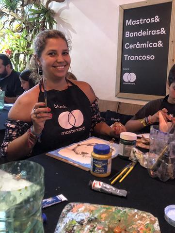 Pintando com Damião Vieira