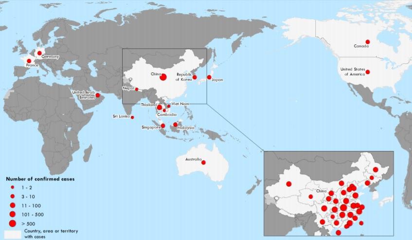 coronavirus viajar pela asia