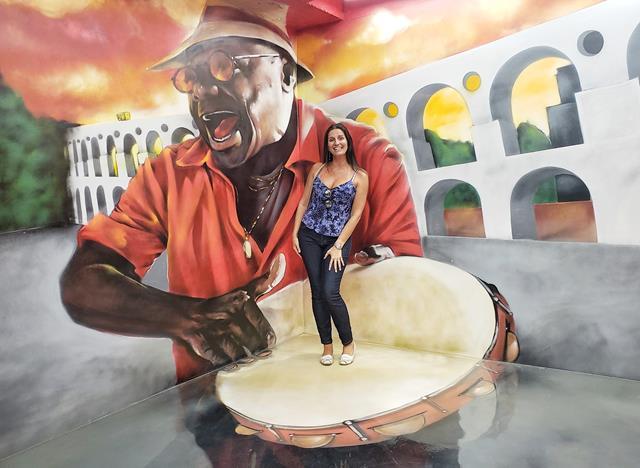 Rio Illusion samba na lapa