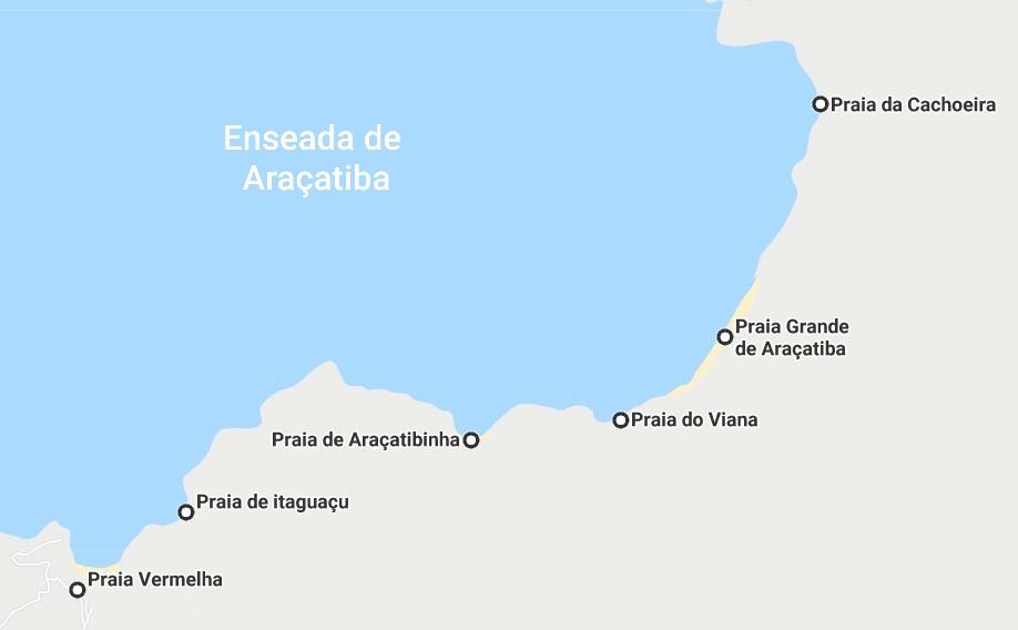 Praias de Araçatiba