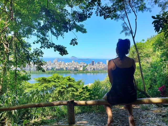 Vista do mirante do Bambuzal