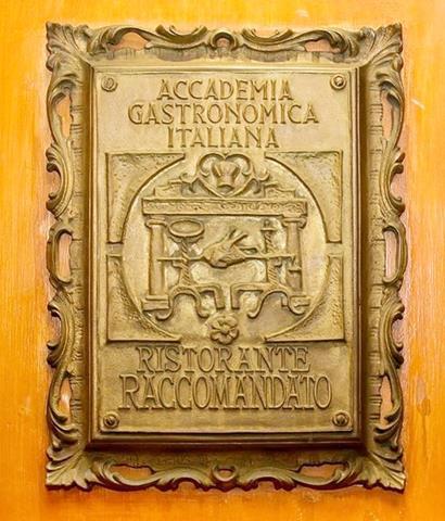 recomendado pela academia gastronômica italiana