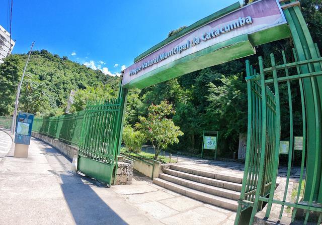 Entrada parque da Catacumba