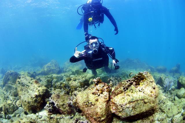 mergulho cilindro arraial