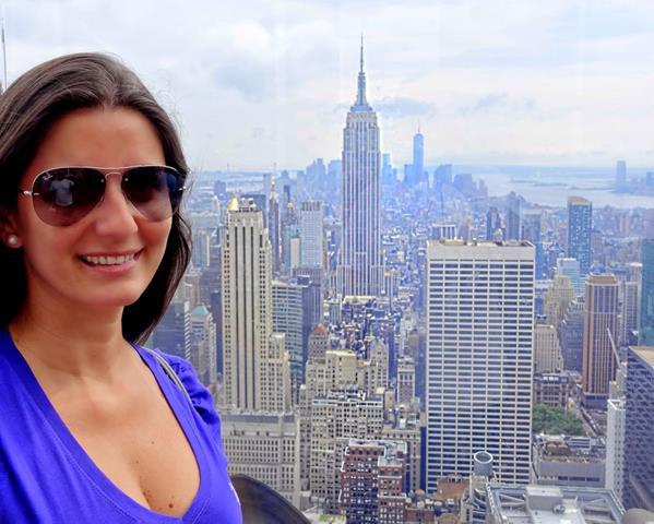 nova york vista do alto