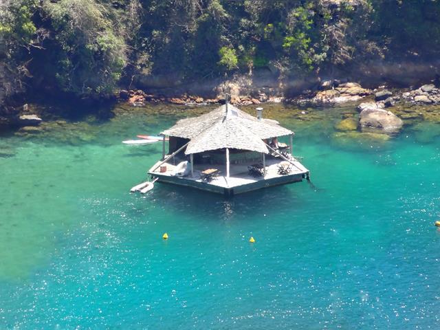 restaurante flutuante lagoa verde